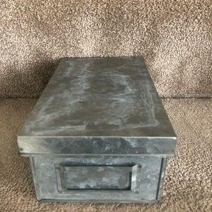 Grayish/silver color box
